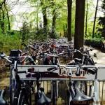 bikes no estacionamento