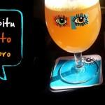 cervejaria Capitu taça e convite