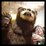Urso da Colorado e Cilmara Bedaque