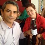 João Palmeira, da APA-TO e Anna Paula Diniz, da DoDesign-s